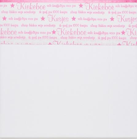 Briljant Laken Indy Star New Pink <br> 75 x 100 cm