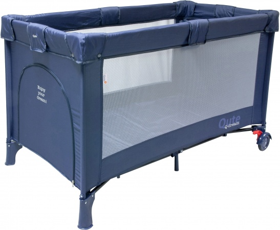 Campingbed qute q dream navy qute q dream baby dump