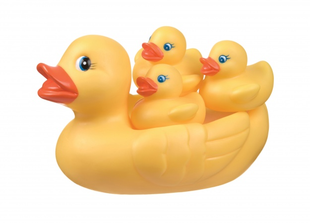 Playgro Bath Duckie Family