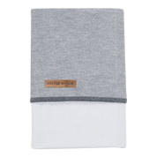 Little Dutch Laken Grey Melange<br> 70 x 100 cm