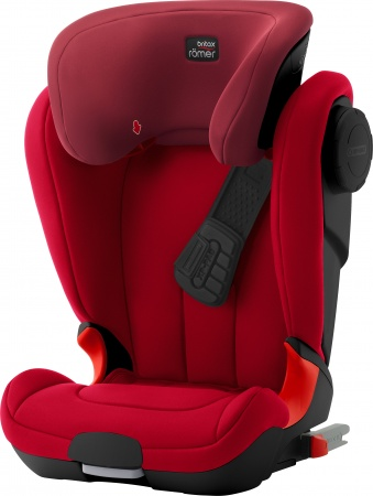 Römer Kidfix XP SICT Flame Red Black Serie
