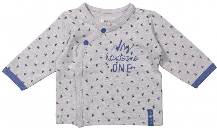 Dirkje T-Shirt Stars Grey/Blue