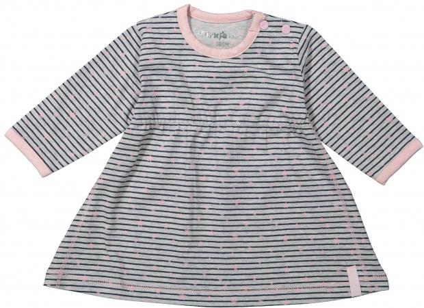 Dirkje Jurk Stripe Grey/Pink