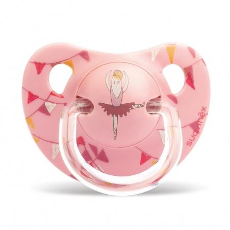 Suavinex Fopspeen Pink Ballerina <br> 6-18mnd