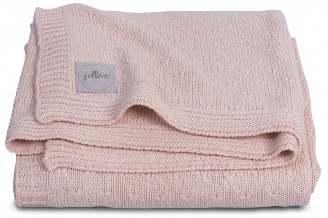 Jollein Deken Zomer Soft Knit Creamy Peach 100 x 150 cm