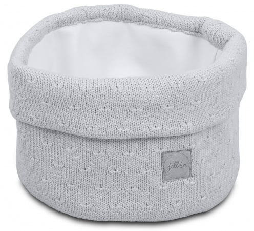 Jollein Verzorgingsmand Soft Knit Light Grey