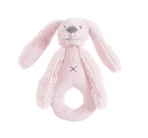 Happy Horse Rabbit Richie Rattle Pink 18 cm
