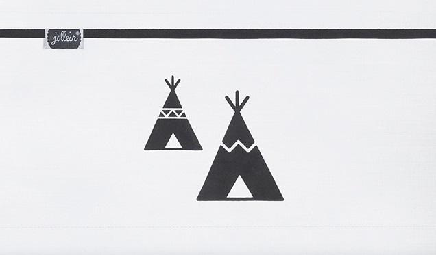 Jollein Laken Indians Tipi 75 x 100 cm