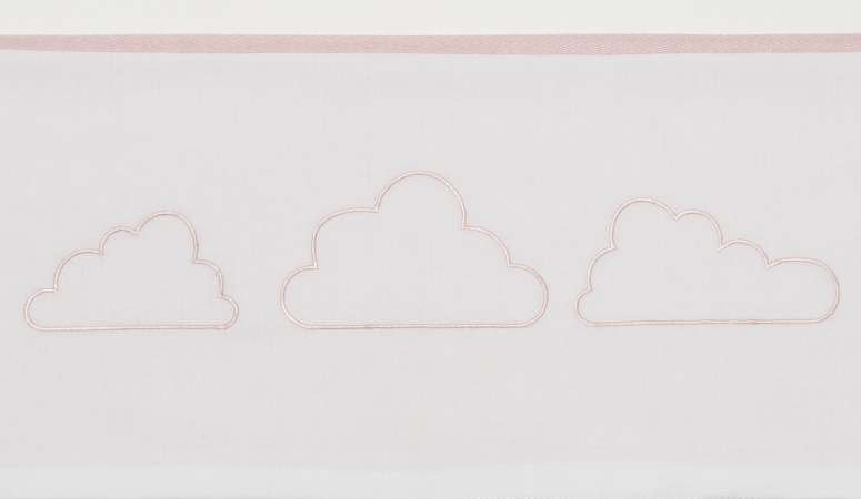 Meyco Laken Little Clouds Roze <br> 75 x 100 cm