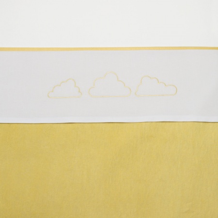 Meyco Laken Little Clouds Geel <br> 75 x 100 cm