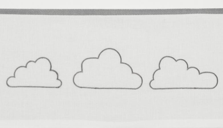 Meyco Laken Little Clouds Grijs <br> 100 x 150 cm