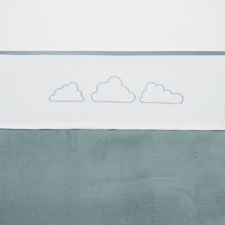 Meyco Laken Little Clouds Jade <br> 100 x 150 cm