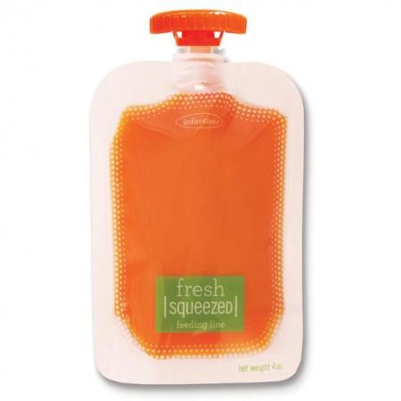 Infantino Fresh Squeeze Zakjes 50stuks