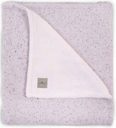 Jollein Deken Winter Confetti Knit Vintage Pink 100 x 150 cm