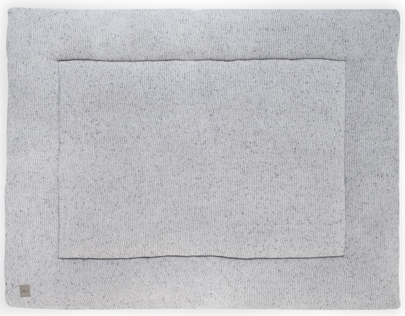 Boxkleed Confetti Knit Grey<br> 80 x 100 cm