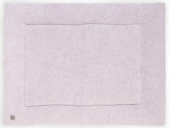 Jollein Boxkleed Confetti Knit Vintage Pink <br>80 x 100 cm