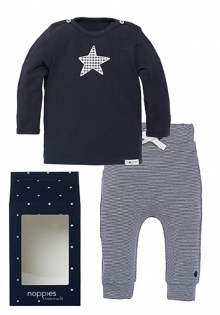 Noppies Giftset Basic Boy Navy
