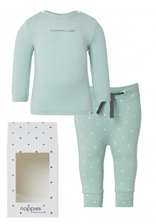 Noppies Giftset Grey Mint
