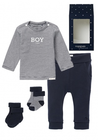 Noppies Giftset Medium Boy Navy