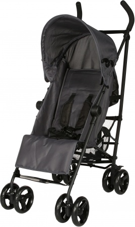 Basicline Buggy 5-Standen Anthracite