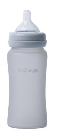 Bo Jungle Fles Glas 240ml Grey