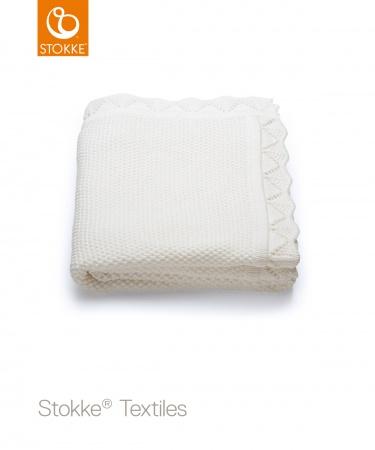 Stokke® Deken Classic White <br> 80 x 100 cm