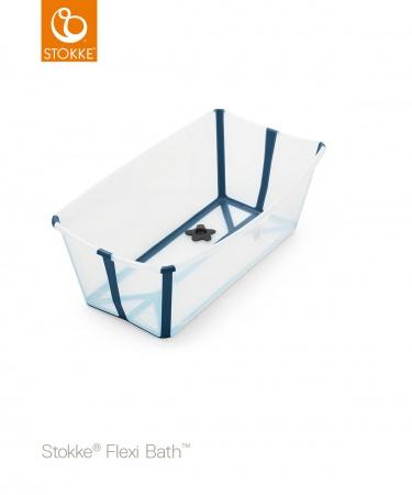 Stokke® Flexi Bath™ Transparant Blue