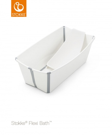 Stokke® Flexi Bath™ Bundel White (Inclusief Newborn Support)