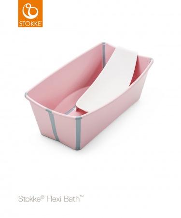 Stokke® Flexi Bath™ Bundel Pink (Inclusief Newborn Support)