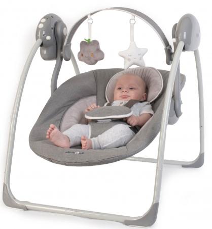 Baby Schommelstoel Automatisch.Bo Jungle B Portable Swing Grey Schommelstoelen Baby Dump