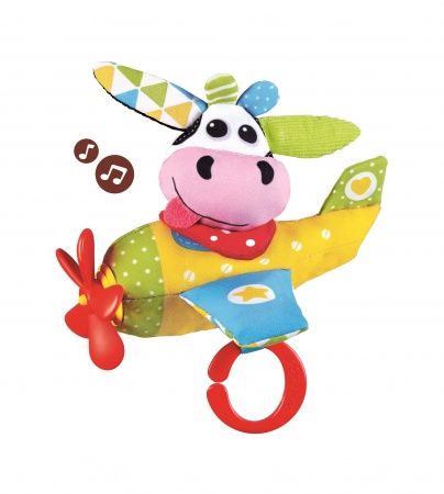 Yookidoo Tap Play Musical Plane Cow