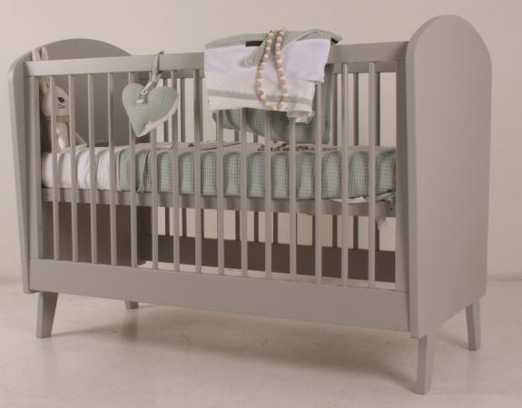 Babykamer Daan Baby Dump.Ledikant 60 120 Daan Grijs Happy Baby Baby Dump