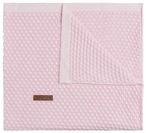 Baby's Only Wiegdeken Uni Sun Classic Roze/ Baby Roze 70 x 95 cm