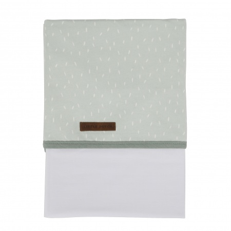 Little Dutch Laken Sprinkles Mint<br> 70 x 100 cm