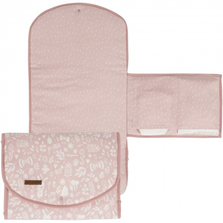 Little Dutch Verschoningsmat Adventure Pink <br>60 x 36 cm