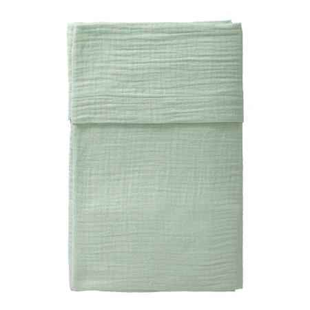 Cottonbaby Ledikantlaken Soft Mint <Br> 120 x 150 cm