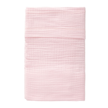 Cottonbaby Ledikantlaken Soft Roze <Br> 120 x 150 cm