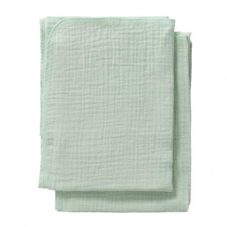 Cottonbaby Multidoek Soft S Mint <Br> 2Stuks