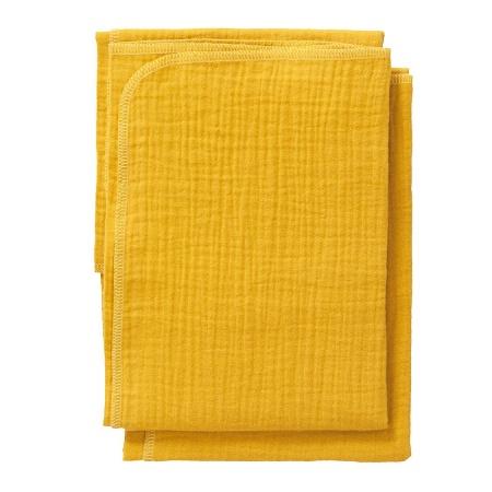 Cottonbaby Multidoek Soft S Okergeel <Br> 2Stuks