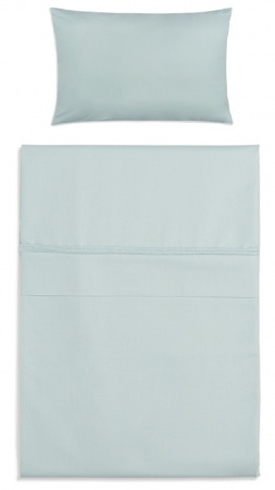 Baby's Only Dekbedovertrek Soft Cotton Mint 100 x 135 cm