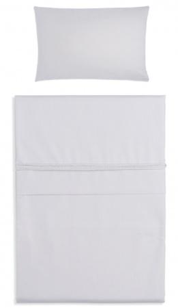 Baby's Only Dekbedovertrek Soft Cotton Zilvergrijs 100 x 135 cm