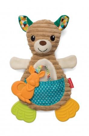 Infantino Cuddly Teether Kangaroo