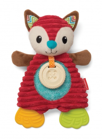 Infantino Cuddly Teether Fox