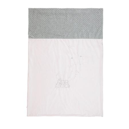 Noukie's Deken Etoiles Roze<br> 75 x 100 cm