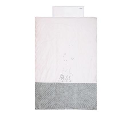 Noukie's Dekbedovertrek Etoiles Roze<br> 100 x 140 cm