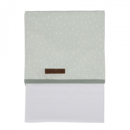 Little Dutch Laken Sprinkles Mint  <br> 110 x 140 cm
