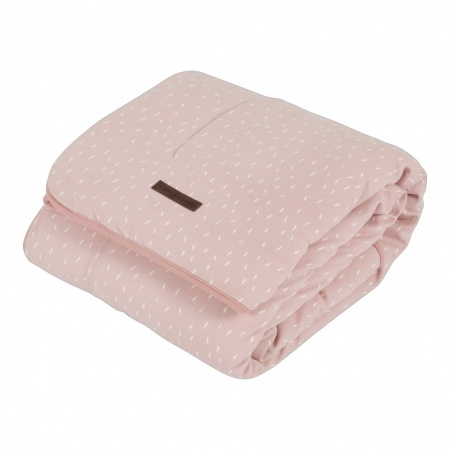 Little Dutch Deken Sprinkles Pink  <br> 70 x 100 cm