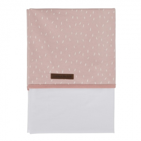 Little Dutch Laken Sprinkles Pink  <br> 110 x 140 cm