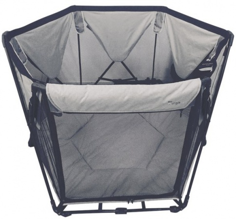 Bo Jungle B-Foldable Playard Grey (uitlopend)