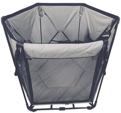 Bo Jungle B-Foldable Playard Grey (uitlopend)